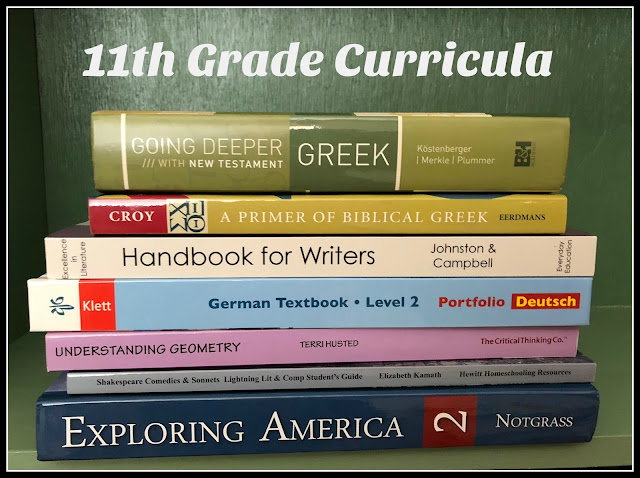 Unexpected Homeschool: Curricula