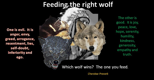 Feeding the Right Wolf