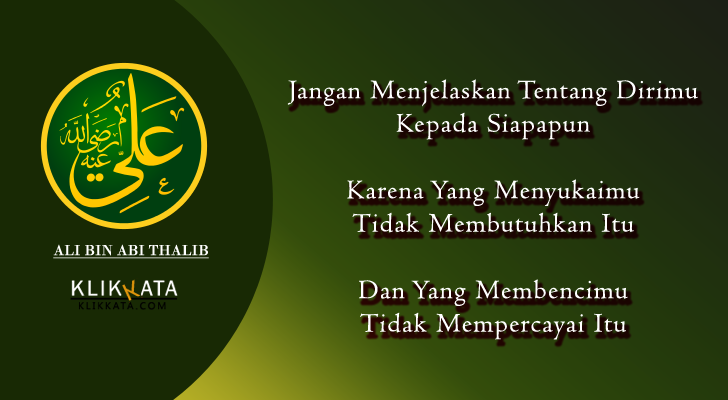 Kata Kata Ali bin Abi Thalib  Kumpulan Mutiara Nasehat dari Salah Satu Sahabat Nabi Muhammad ...