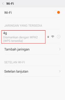 autentifikasi ulang jaringan wifi android