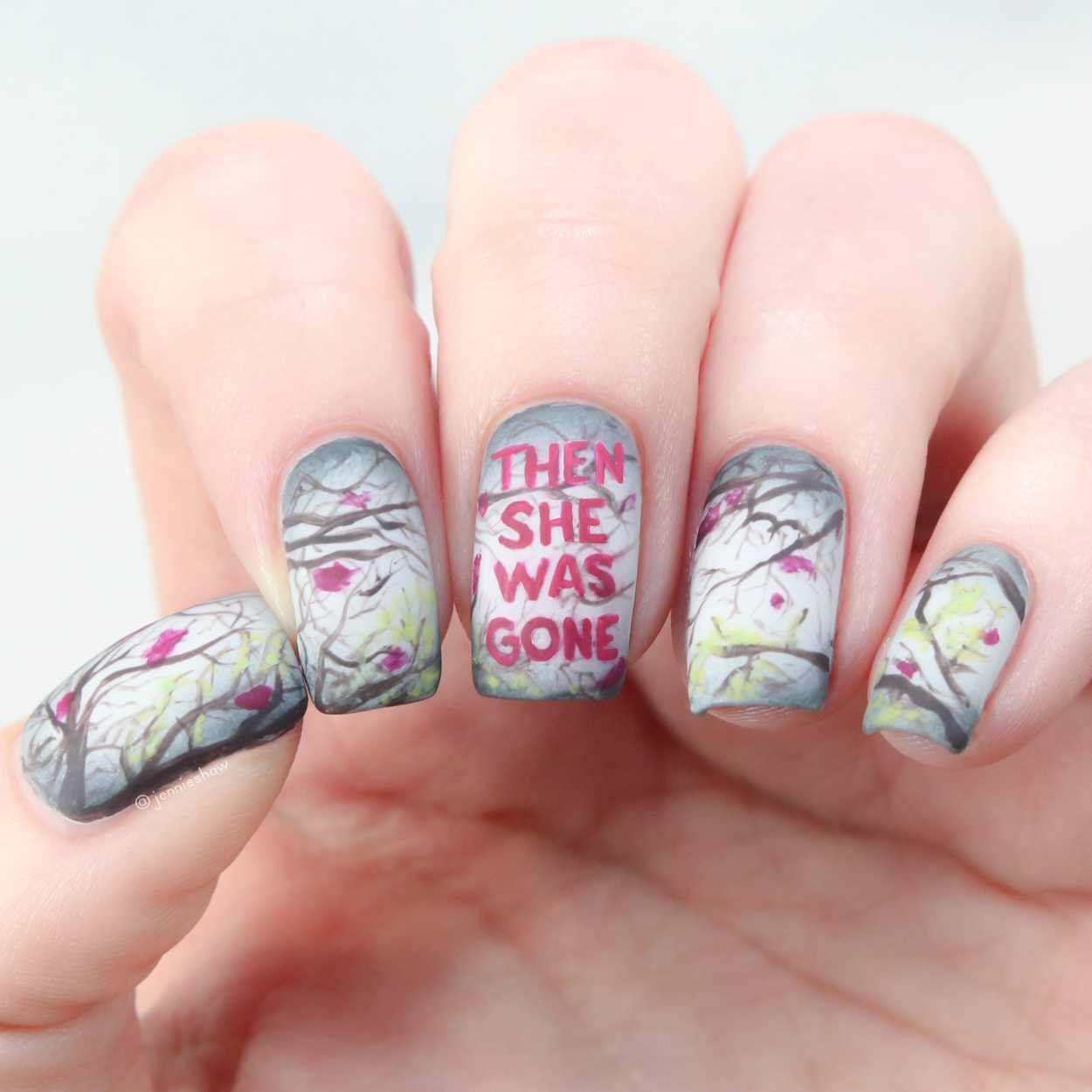 Luxury Pink Floyd Nails Vignette - Nail Paint Ideas ...