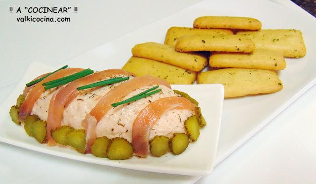 Paté de salmón ahumado