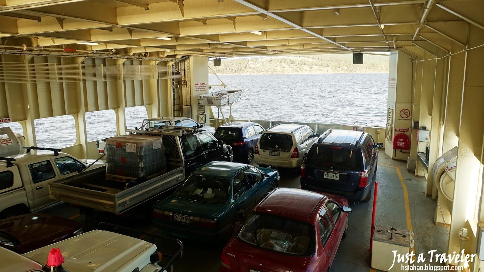 塔斯馬尼亞-景點-推薦-布魯尼島-Bruny-Island-渡輪-Ferry-澳洲-Tasmania-Tourist-Attraction-Australia