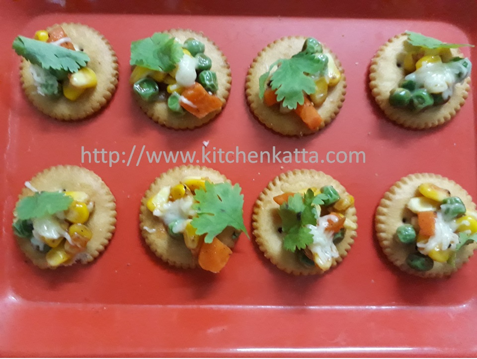 Here are simple ingredients and quick recipe for Biscuit Canopy & kitchen katta: Biscuit Canopy