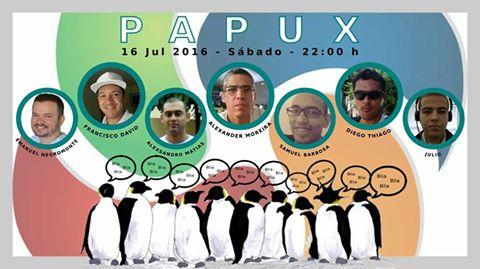 Participe do PAPUX, um papo descontraído e com data marcada! Então, vamos conversar?