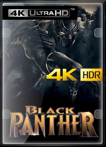 Pantera Negra (2018) 4K UHD (HDR) LATINO/CASTELLANO/INGLES