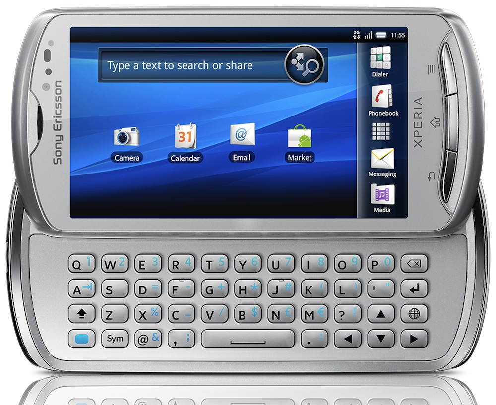 Sony Ericsson Xperia Pro Manual PDF Download (6.53 MB ...