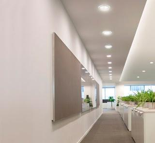 Đèn led giúp giảm chi phí thiết kế văn phòng