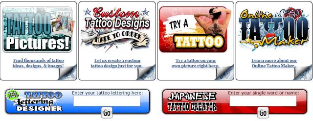 creare tatuaggi online