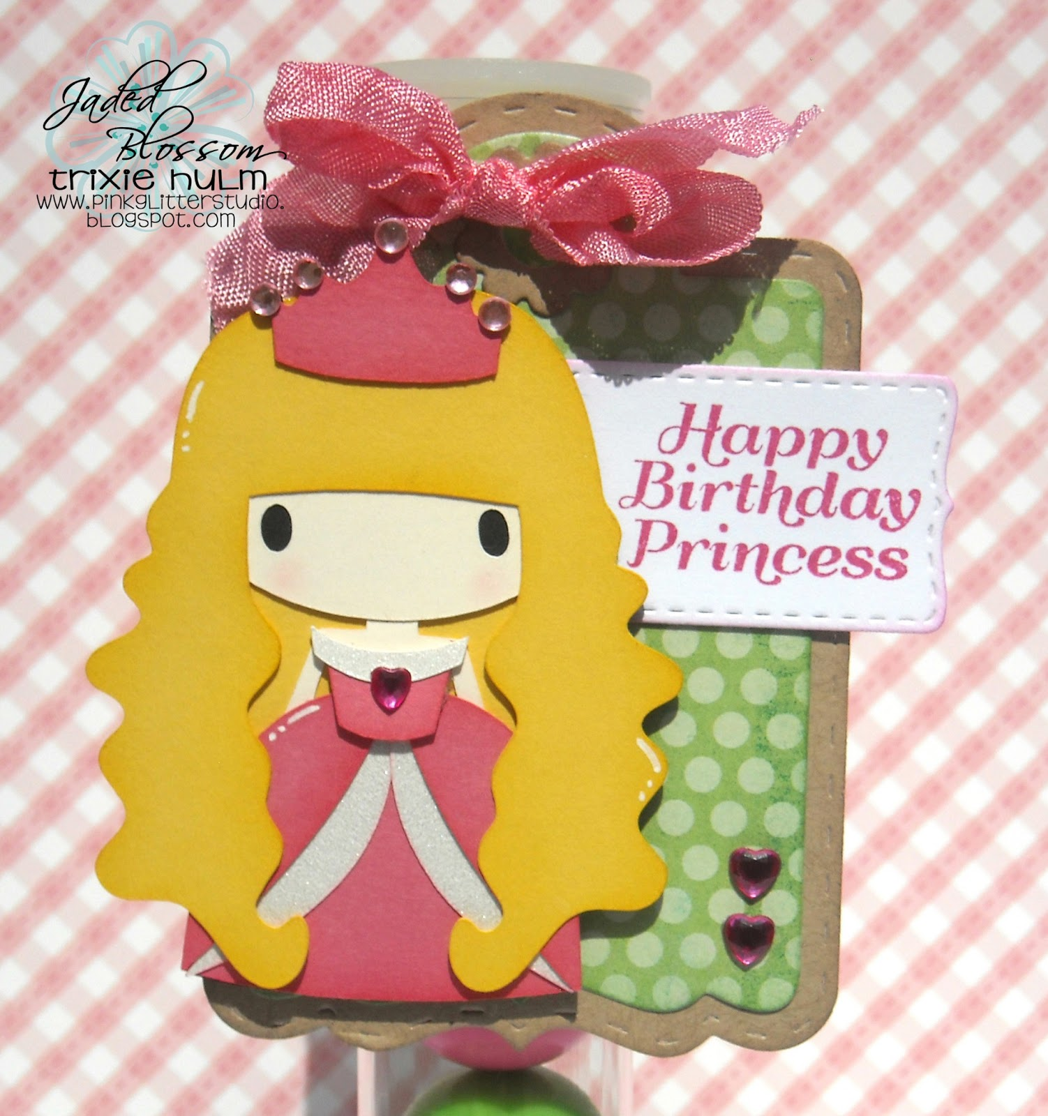 Pink Glitter Studio: Happy Birthday Princess