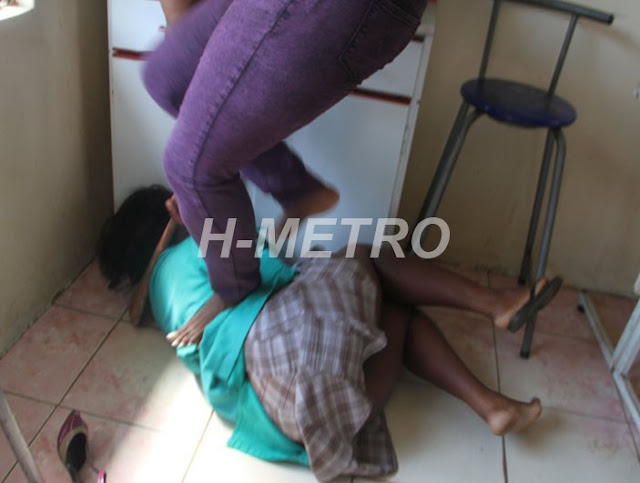 For sleeping with someone's husband, girl gets brutalized (See Photos)