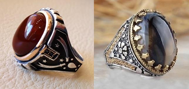 अक़ीक़ पत्थर से बनी हुई सबसे प्रतीक्षित अंगूठी