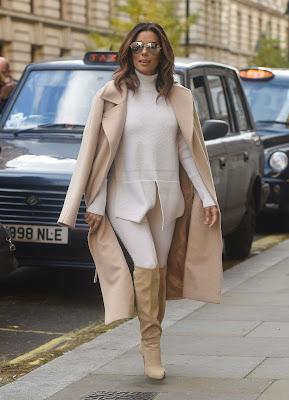 Eva Longoria, à Londres - 18 Novembre 2016