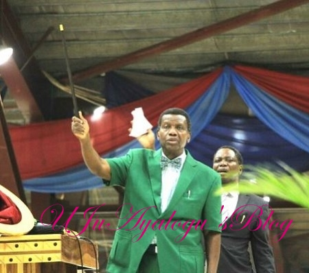 UNBELIEVABLE: The 'Strange' Wooden Staff Pastor Adeboye Uses For Miracles REVEALED ... See Photo