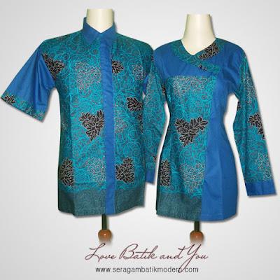 Model Seragam Batik Terbaru