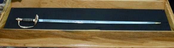 Replica espada de Rosas (en Paraguay)