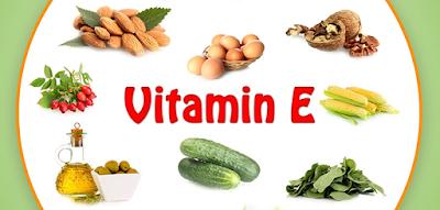 Sumber/Fungsi Vitamin E - Daftar Vitamin