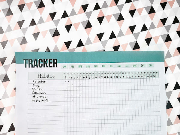 Planner 2019 #6: Habit Tracker (Gratuito para download)