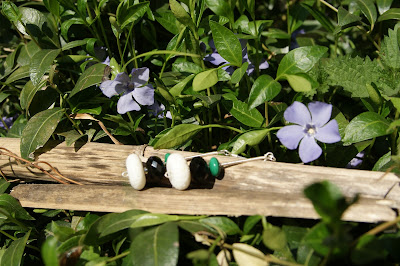 White coral, onyx & malachite