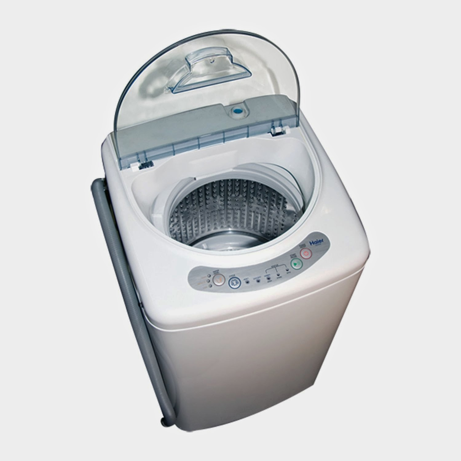 haier stackable washer and dryer. haier hlp21n pulsator 1 cf portable washer stackable and dryer