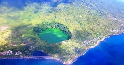 Legenda Danau Tolire di Maluku Utara Indonesia