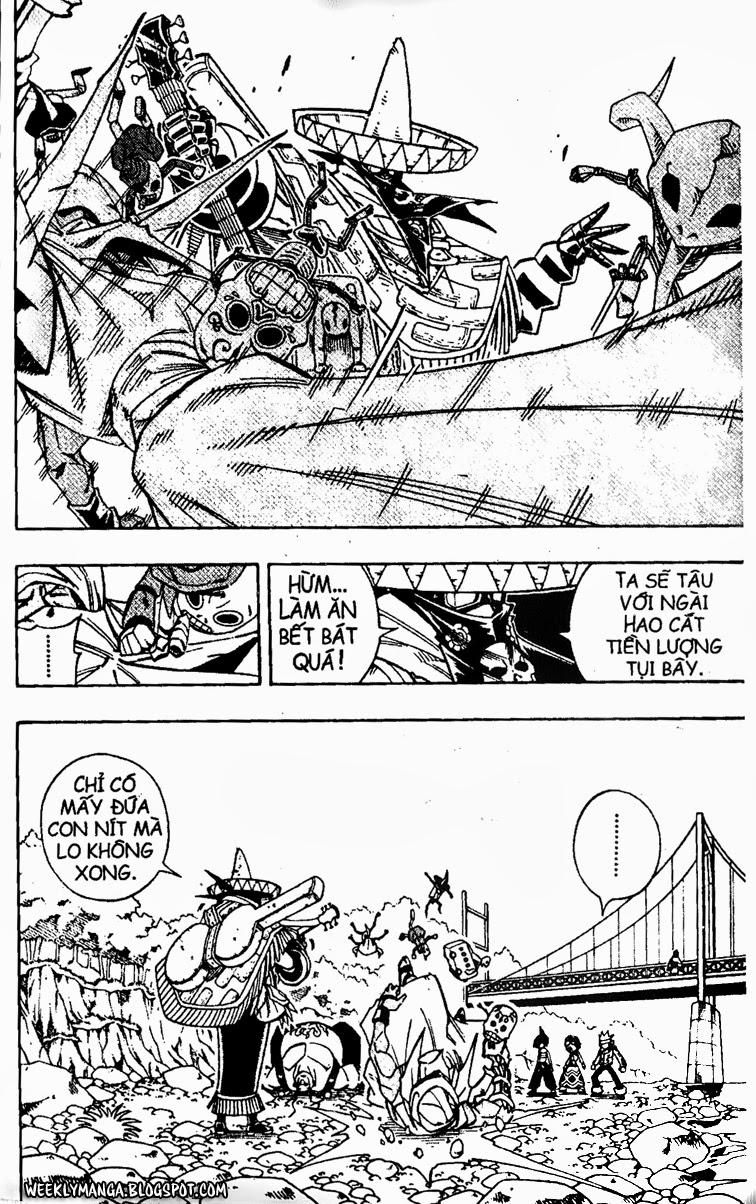 Shaman King [Vua pháp thuật] chap 150 trang 15