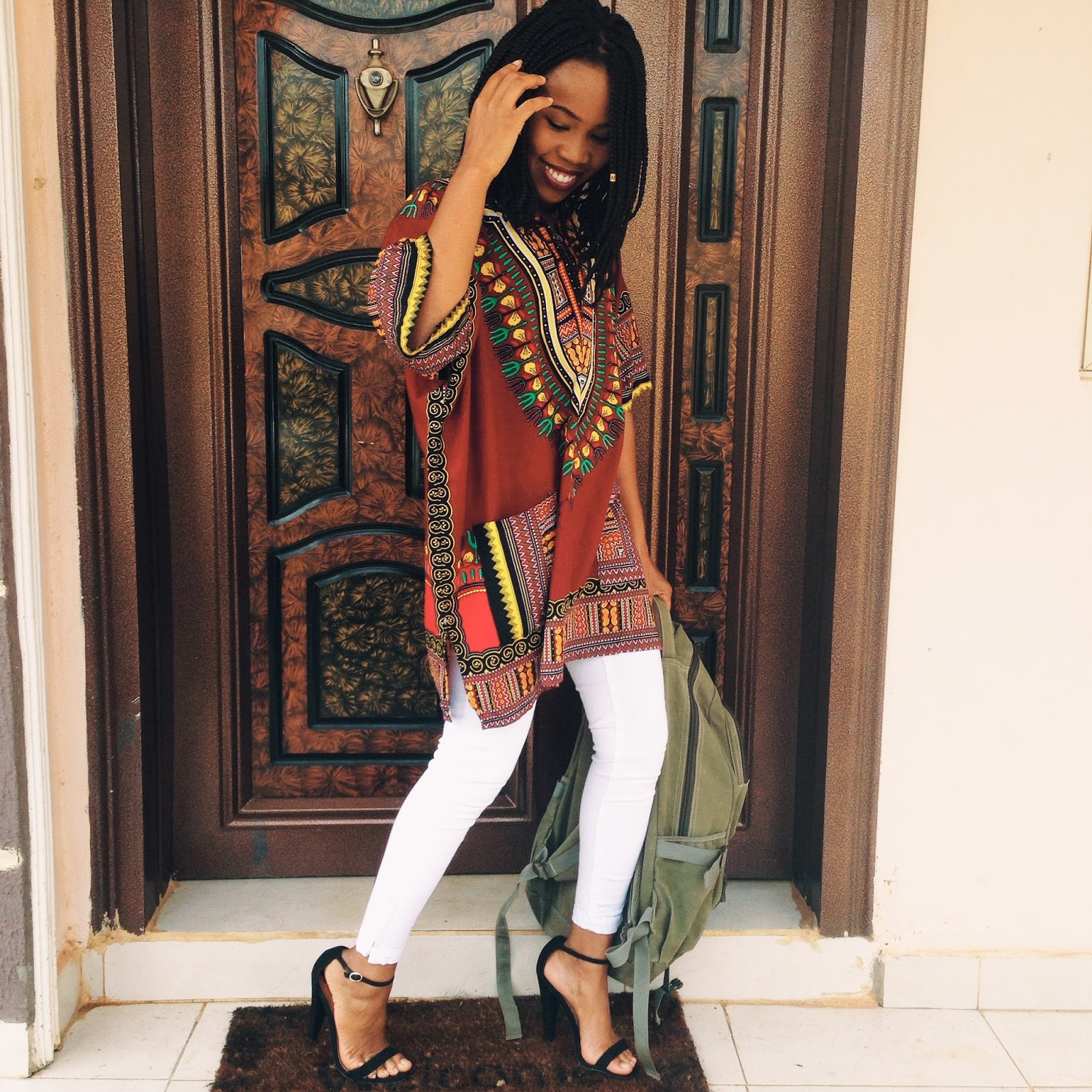 HOW TO STYLE YOUR DASHIKI