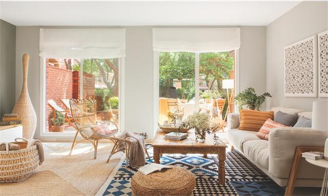 Interior con un marcado sabor mediterráneo chicanddeco