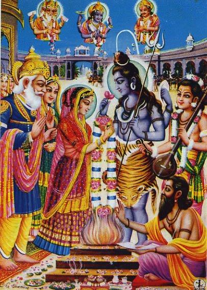 Shiva Wallpaper On The Net Shiva Parvati Vivah Maha