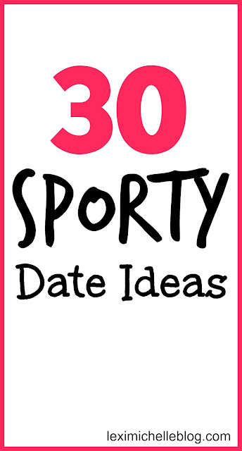 30 sporty/active date ideas perfect for warm weather! Plus one bonus active group date idea! Some these can be done during winter too!