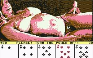 Videojuego Strip Poker 1984