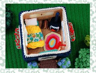 livre - playmobil - crochet - détail