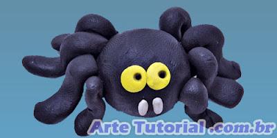 Como fazer aranha de biscuit para o Halloween – Passo a Passo