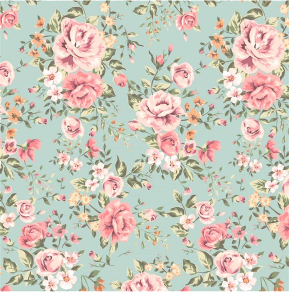 Vintage Floral Wallpaper Free Wallpapers