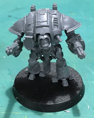 Titanicus WIP Imperial Knight Warden