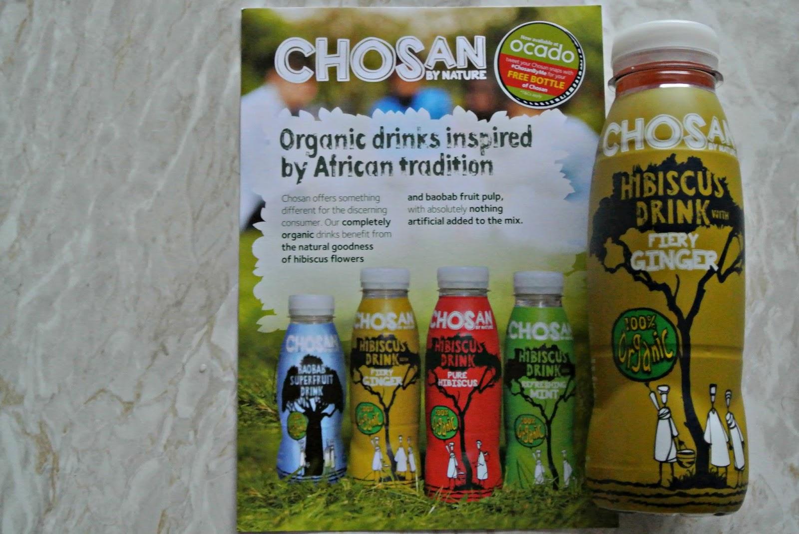 Chosan Hibiscus Drink with Fiery Ginger Degustabox