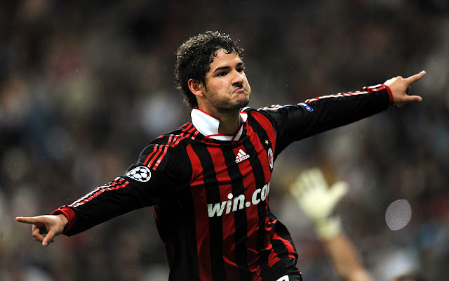 Best players in AC Milan History - Pato