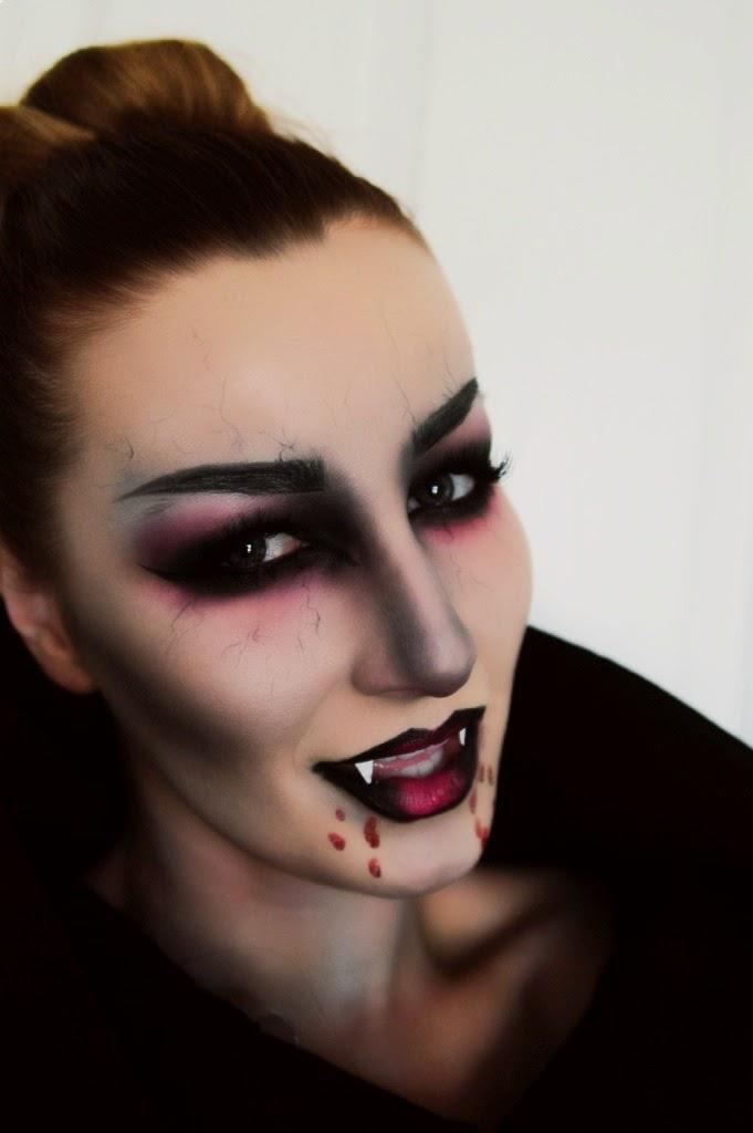 KL Artistry: Halloween: Maleficent and Vampire Makeup