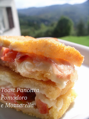 la ricetta per il toast farcito finger food panino