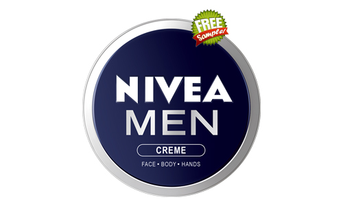 nivea men creme sample, free nivea for men samples