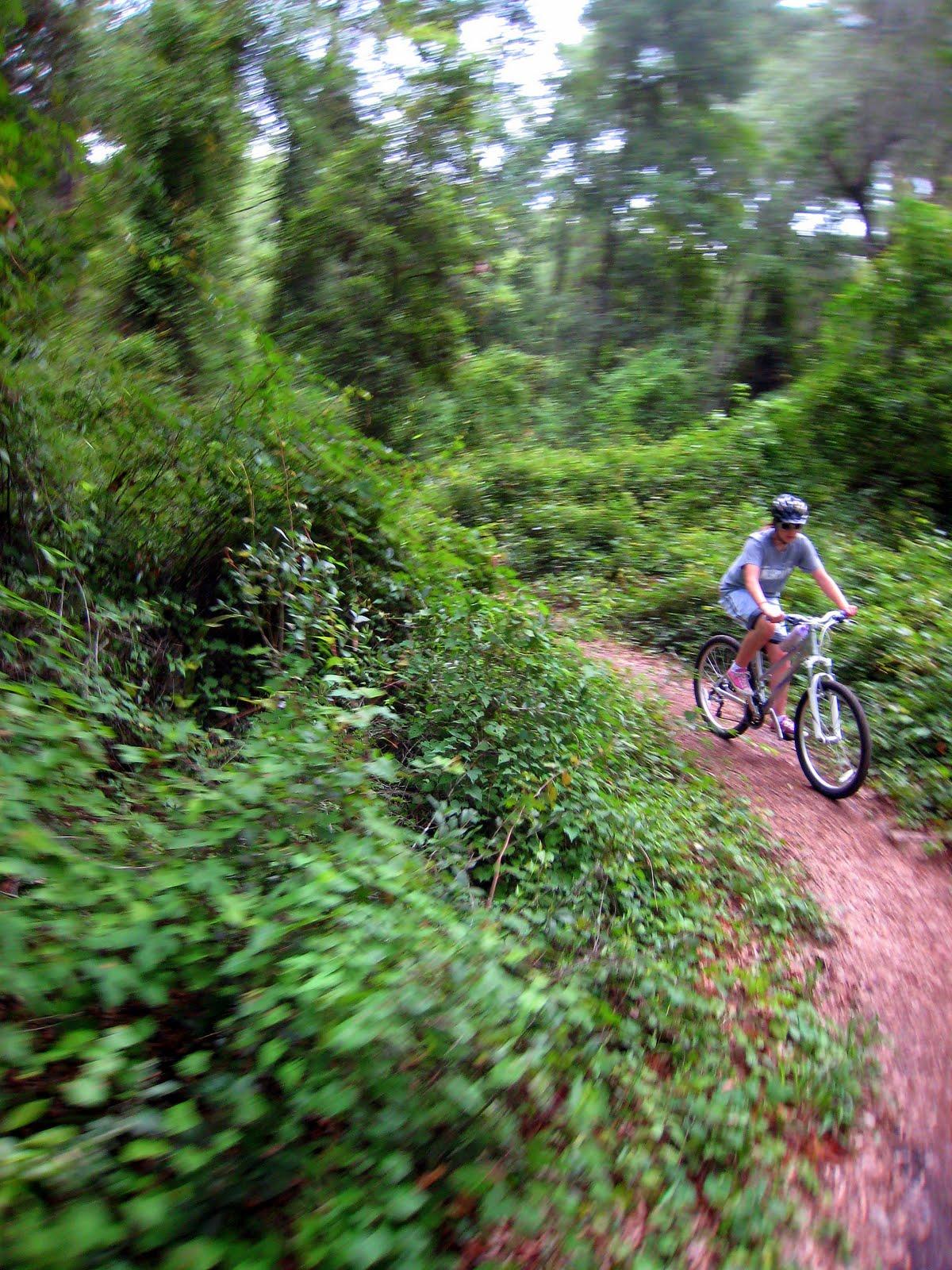 Biking with Roy: Biking Pine Trail at Santos mountain bike trails. Ocala.