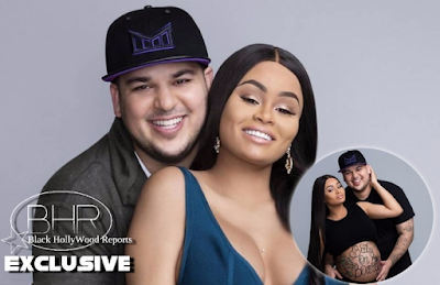 Rob Kardashian And Blac Chyna Welcome Their Baby Girl 'Dream' To The World