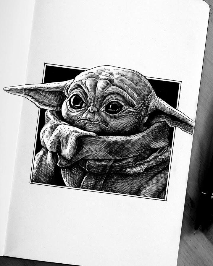 04-Baby-Yoda-The-Mandalorian-Camilo-Hearso-www-designstack-co