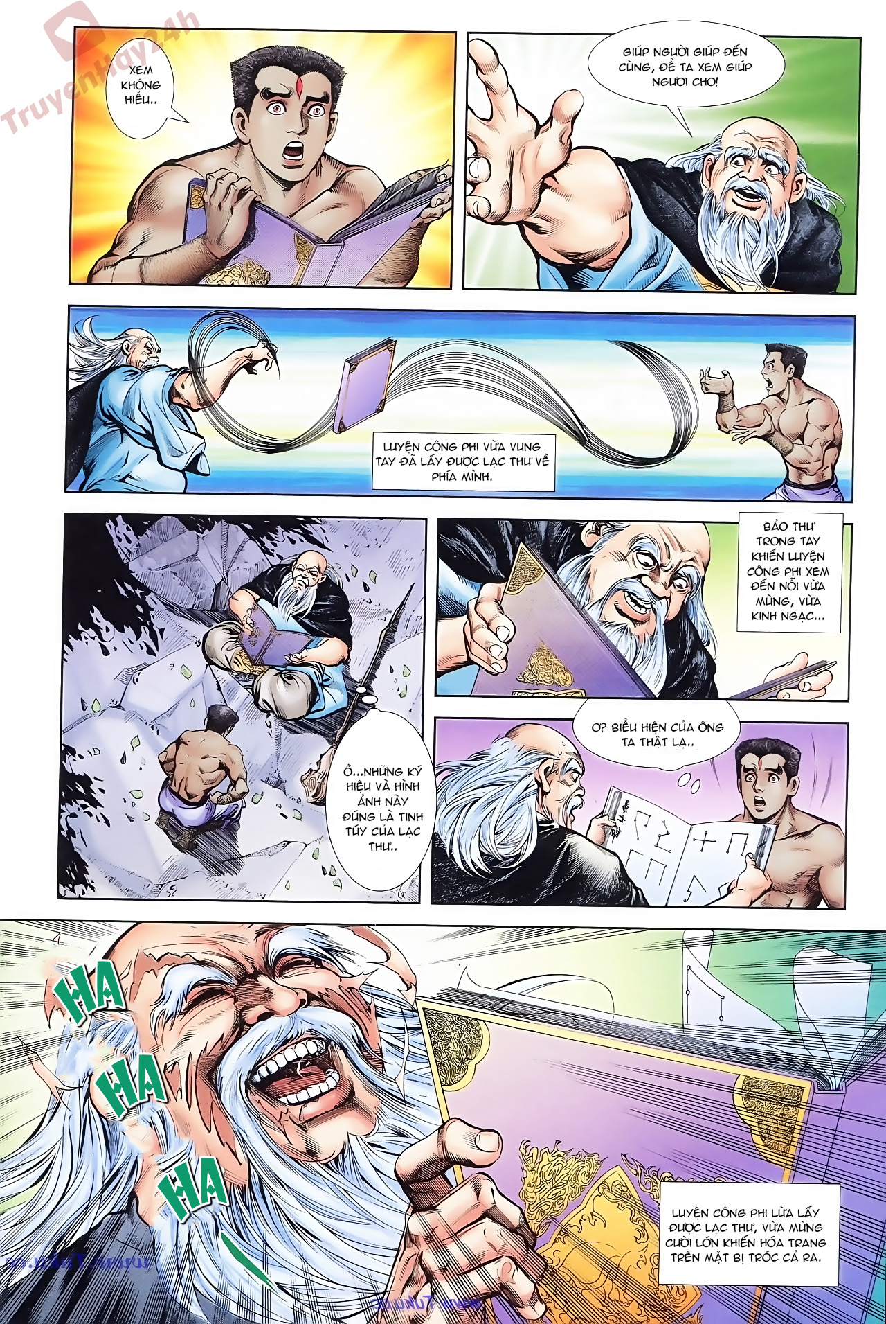 Cơ Phát Khai Chu Bản chapter 71 trang 11