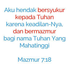 Ayat Alkitab Tentang Ucapan Syukur
