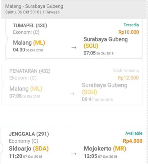 Seandainya Tiket Ka Lokal Bisa Dipesan Online Seputar Kereta Api