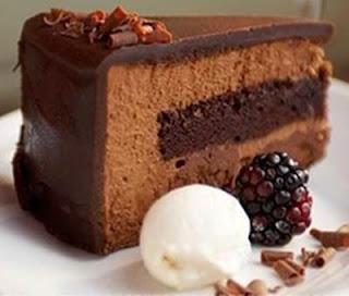 Kue Cake Cokelat Lembut