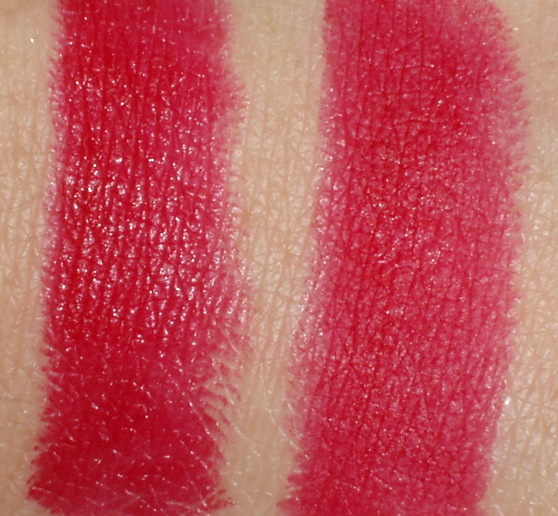 Sparkled Beauty April 2016 Zoya Cosmetics Lip Paint Pure Red This Is Loreal Colour Riche Lipstick In Blakes I Showed You Yesterday On Its Own Left And With Insta Matte Top Right