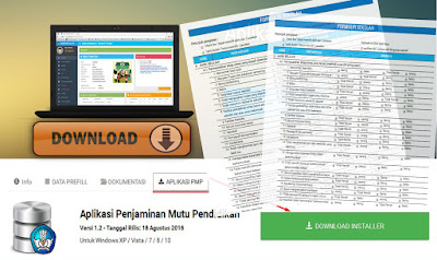 Instrumen Pemetaan Mutu Pendidikan (PMP) Tahun 2016 Format PDF