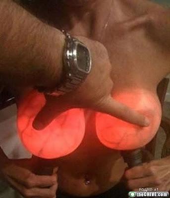 teardrop boobs